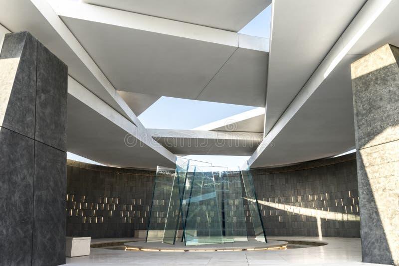 Wahat Al Karama - Pavillion der Ehre, Abu Dhabi, Okt 2018 lizenzfreie stockfotos