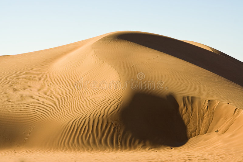 wahiba άμμων του Ομάν στοκ φωτογραφίες με δικαίωμα ελεύθερης χρήσης