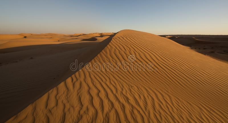 Wahibah Sands Dune Bashing stock photography