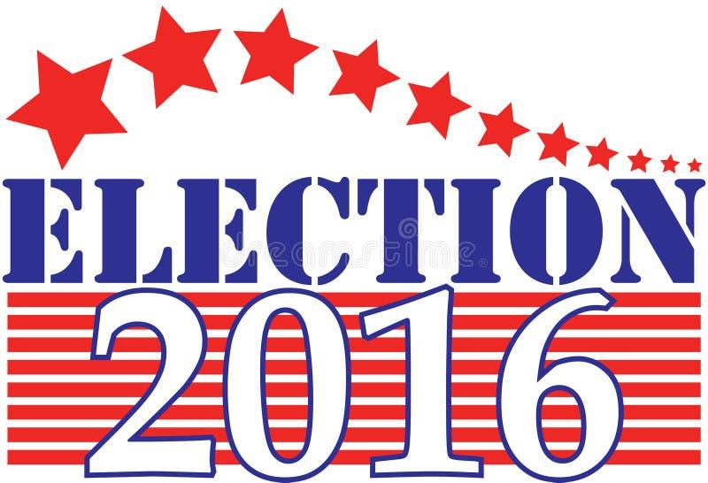 Wahl 2016 lizenzfreie abbildung