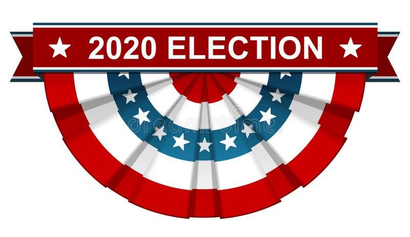 Wahl 2020 vektor abbildung