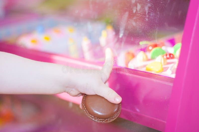 Wahl im Schaufenster Süß stockfotos