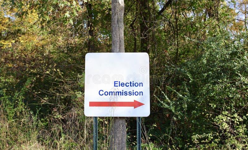 Wahl-Kommission lizenzfreies stockfoto