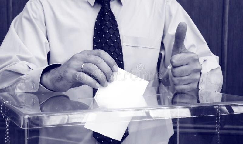 Wahlen stockfotografie