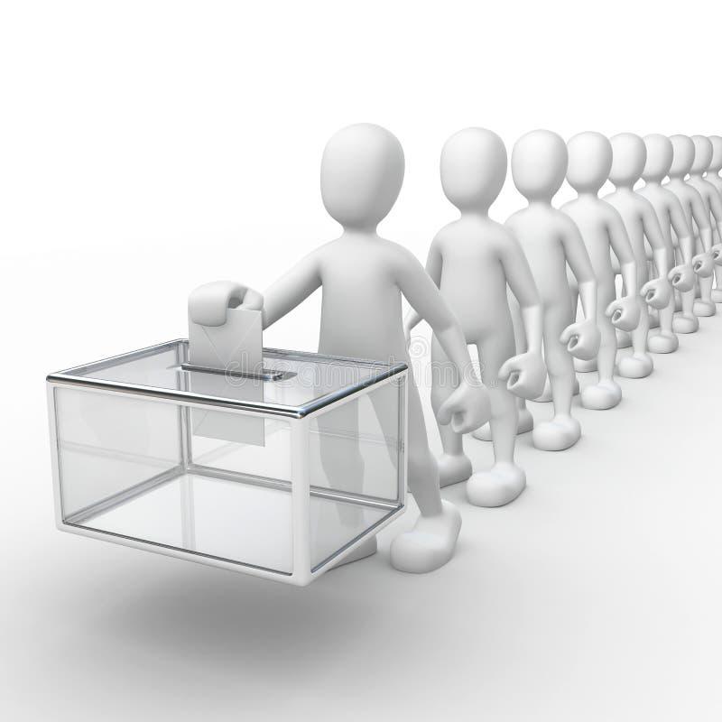 Wahlen vektor abbildung