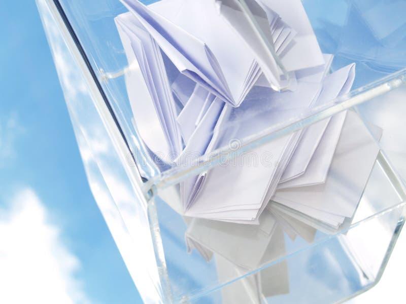 Wahlurne stockfotos