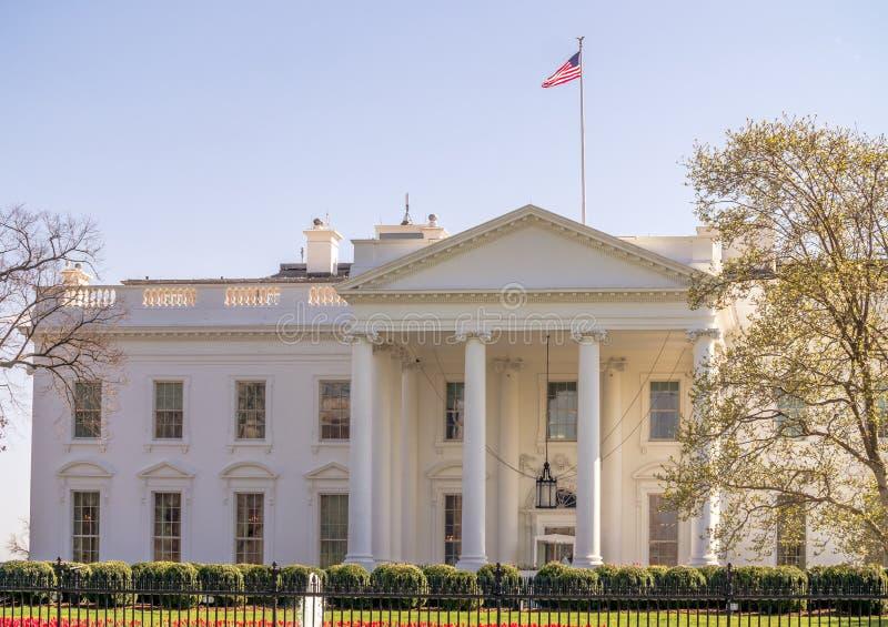 Wahsington DC的白宫 免版税库存图片