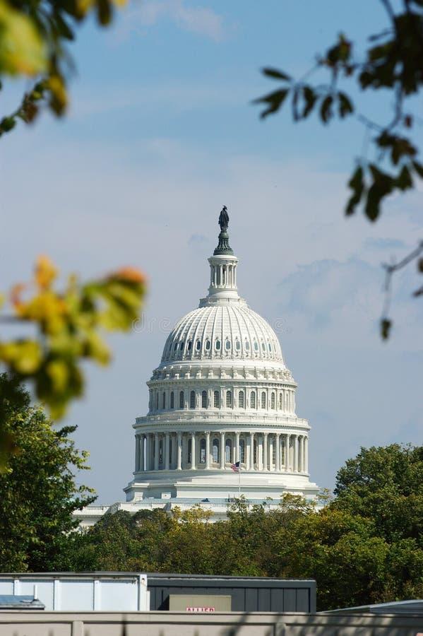 Wahsington För Capitol D För Byggnad C Arkivbild