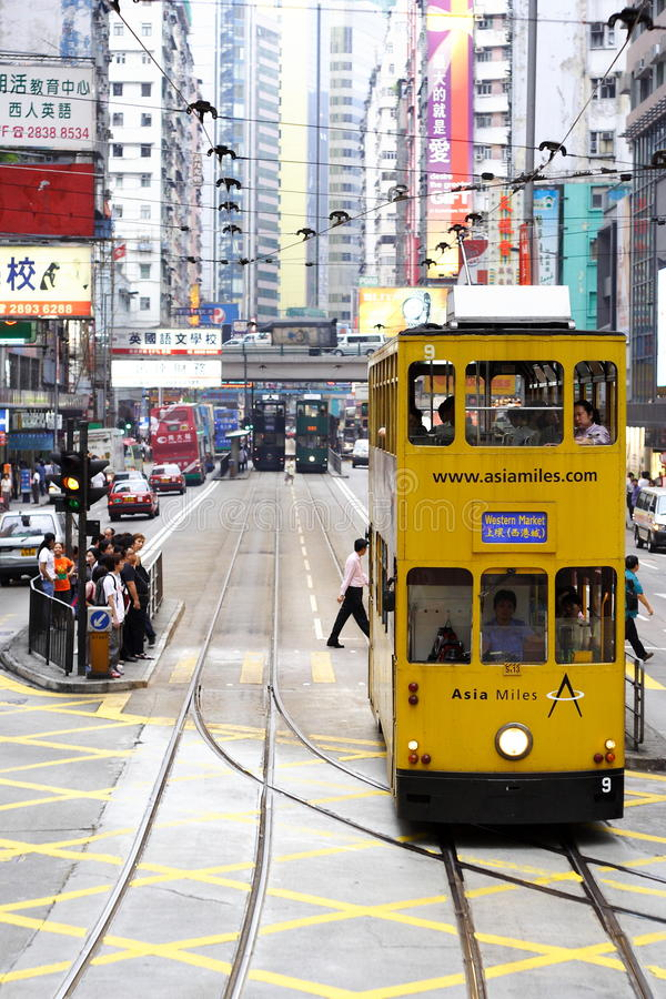 Wai Chai - Hong Kong stockfoto