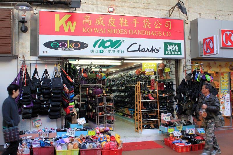 Wai Ko обувает компанию сумок стоковое фото rf