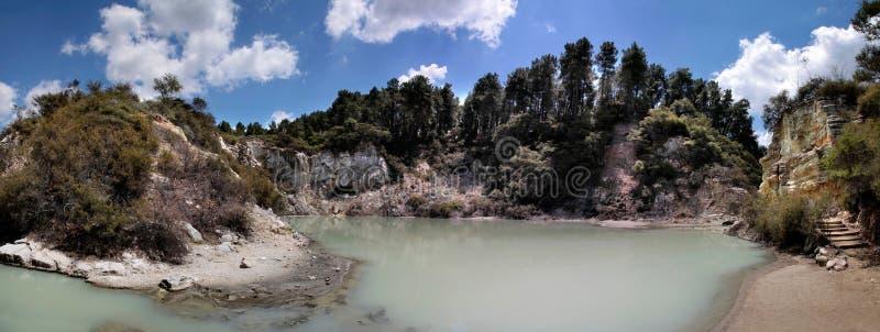 Download Wai-o-Tapu geothermal area stock photo. Image of sulfur - 21168860