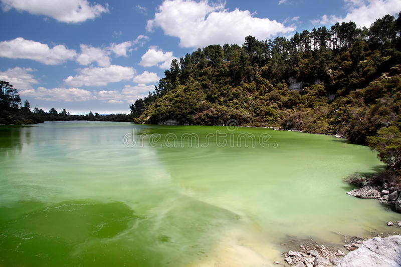 Wai-o-Tapu geothermal area royalty free stock images