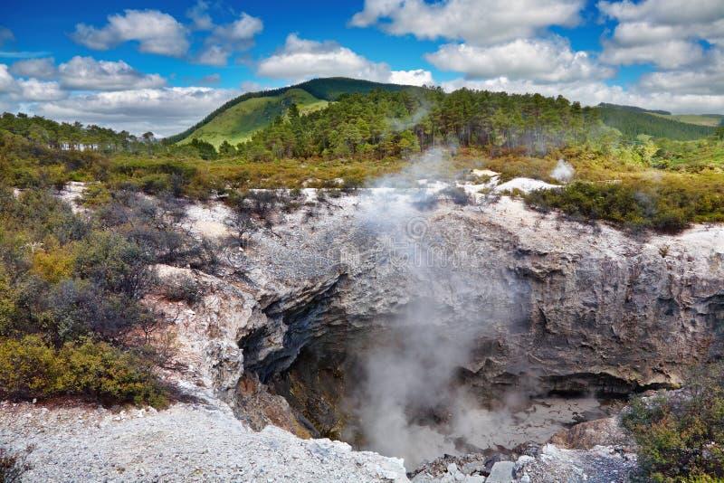 Wai-O-Tapu Thermal Area, New Zealand Stock Image