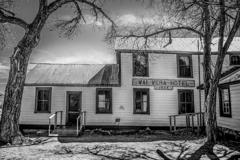 Wai Wera Hotel en Benton - BENTON, los E.E.U.U. - 29 DE MARZO DE 2019 foto de archivo