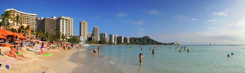 Waikiki Гонолулу Гаваи стоковые фото