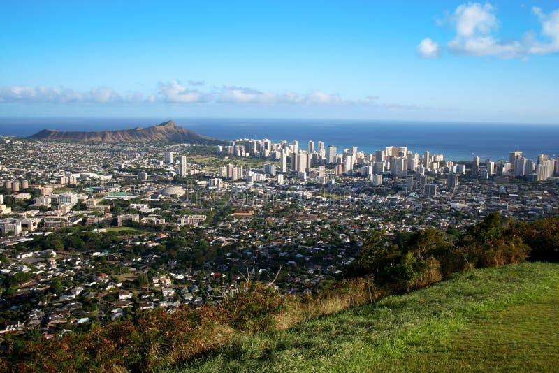waikiki de Honolulu photo libre de droits