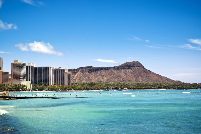 Waikiki Hawai fotografia stock