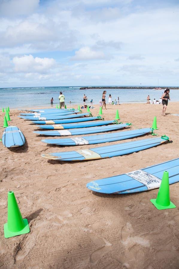 Waikiki Kipieli Lekcje Zdjęcie Editorial