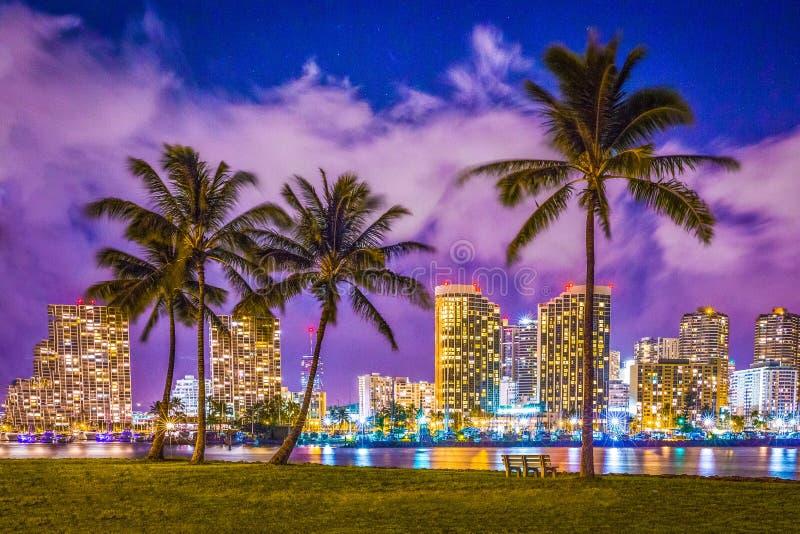 Waikiki Marzyć fotografia royalty free