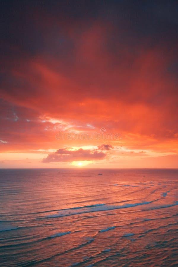 Download Waikiki resort sunset stock image. Image of summer, rest - 2903661
