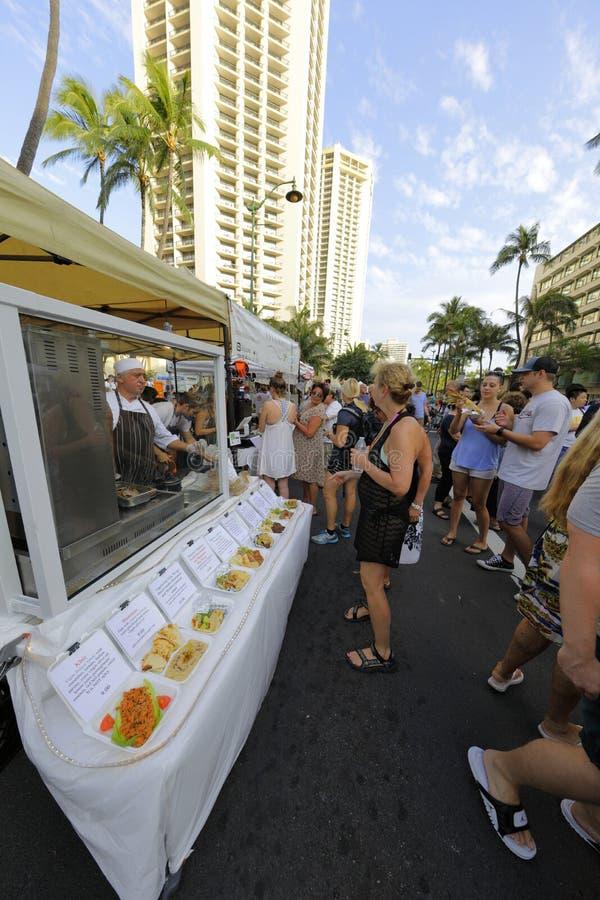 Waikiki-Straßenfest lizenzfreie stockfotos