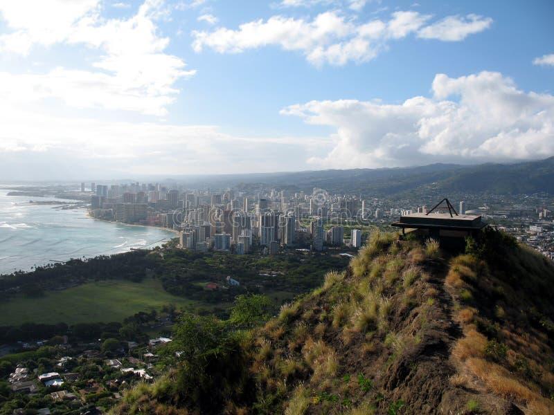 Waikiki Strand lizenzfreie stockbilder