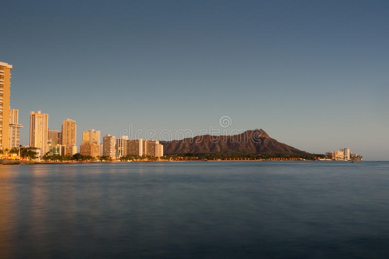 Download Waikiki at sunset stock photo. Image of nobody, vacation - 12370288
