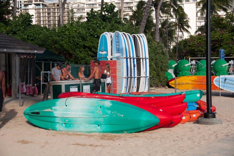 Waikiki water sport rentals
