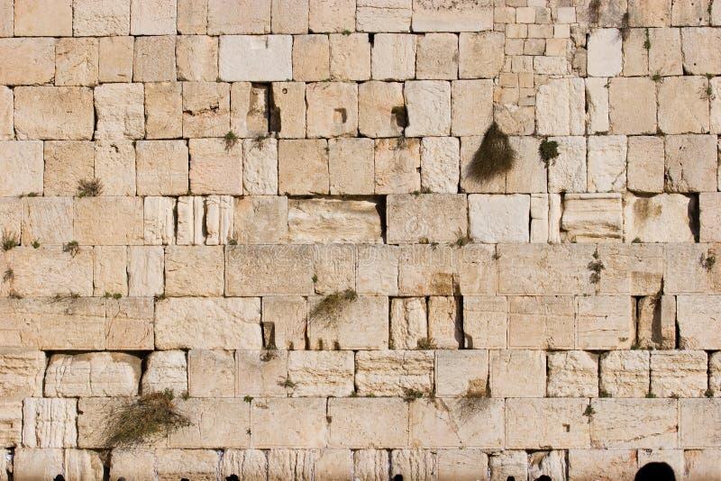 wailing τοίχος στοκ φωτογραφία