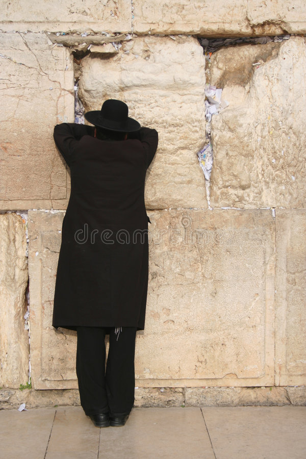 wailing τοίχος 3 Ιερουσαλήμ στοκ εικόνες