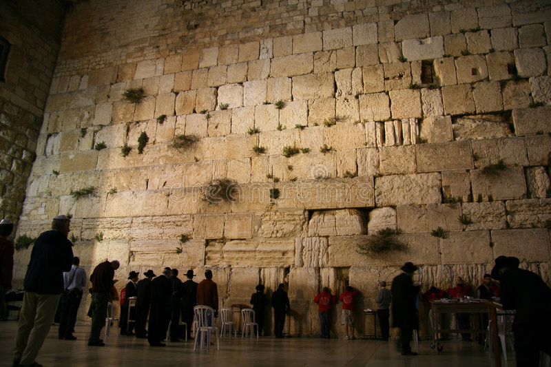 Download The Wailing Wall stock image. Image of journey, land, mosque - 5283697