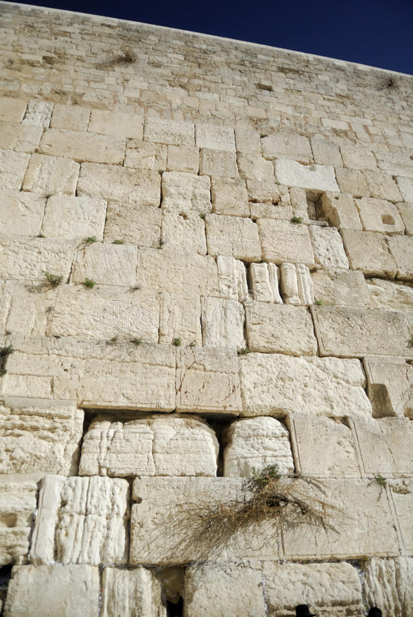 Download Wailing Wall in Jerusalem stock photo. Image of land - 13081726