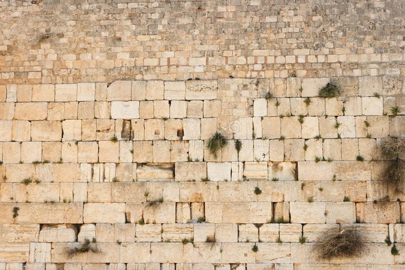 Download Wailing Wall (Western Wall) In Jerusalem Texture Stock Image - Image: 16112867