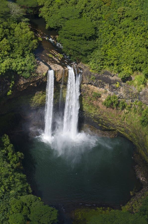 Wailua Waterfall, kauai stock photos