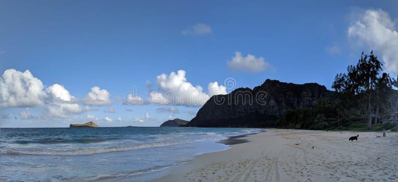 Waimanalo Beach stock image