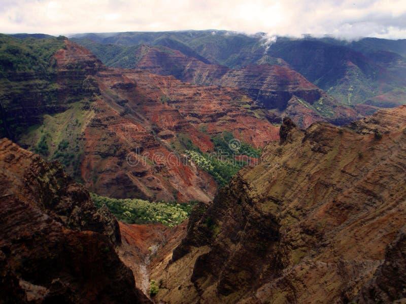 waimea положения парка каньона стоковая фотография rf