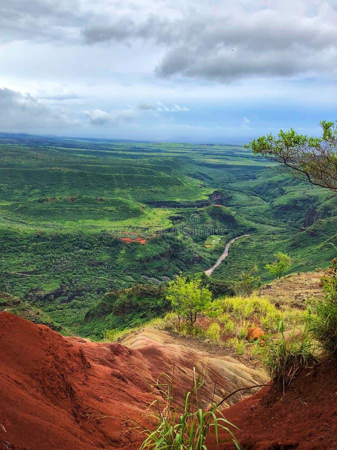 Waimea Canyon stock image