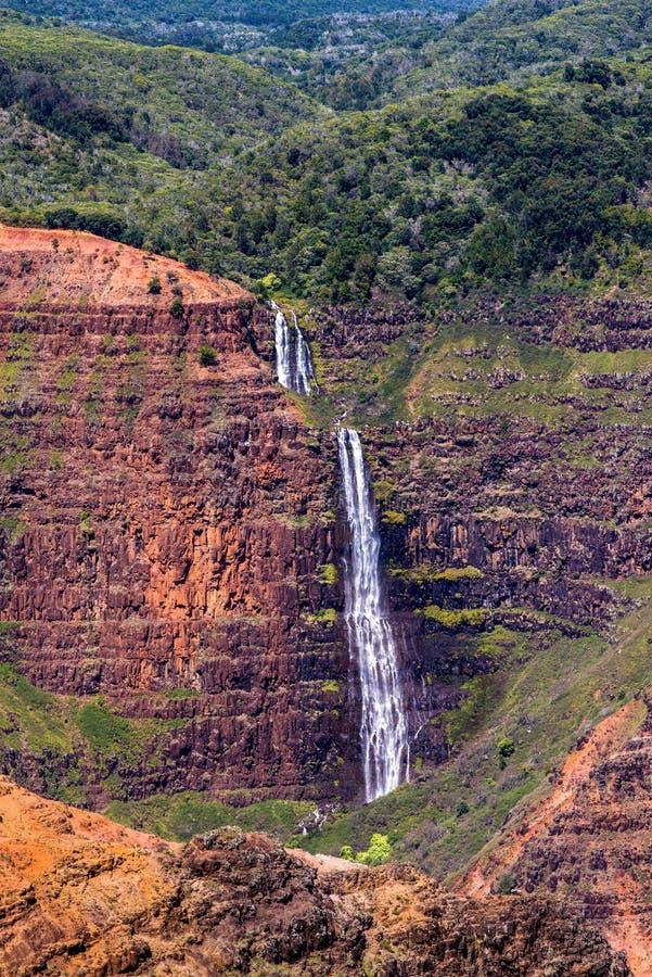 Waimea falls, kauai, hawaii royalty free stock photo