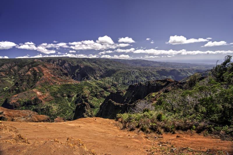 Waimea Schlucht, Kauai, Hawaii stockfoto