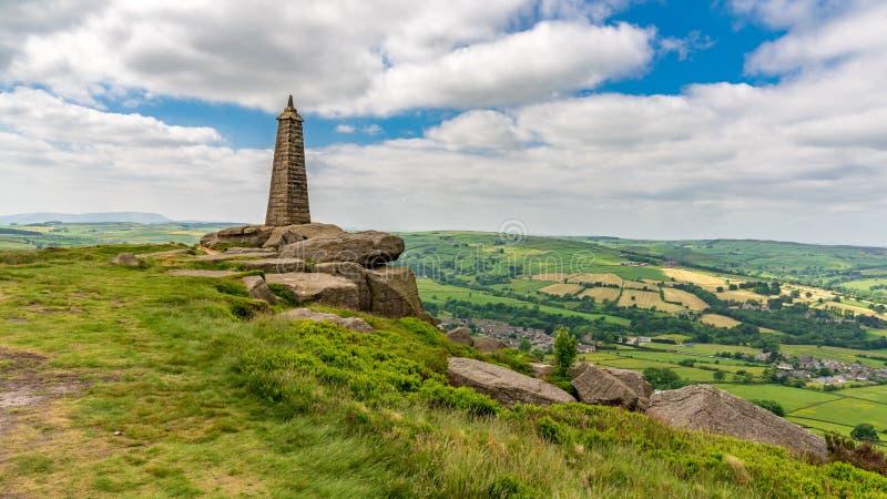 Wainman-` s Berggipfel, North Yorkshire, England, Großbritannien stockfotografie