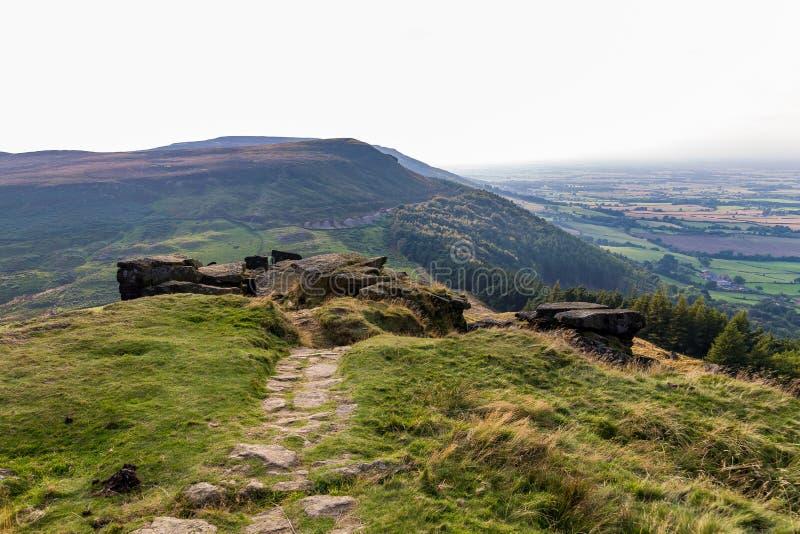 Wainstones, North Yorkshire, Regno Unito fotografia stock libera da diritti