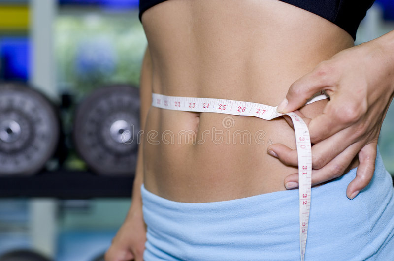 Waist Measurement 2 royalty free stock images