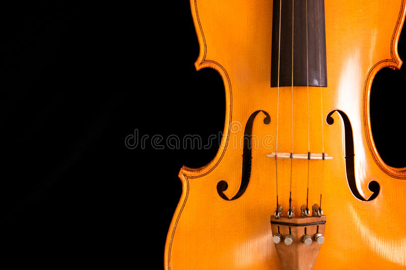 Download Waist of violin on black stock photo. Image of musical - 12942232