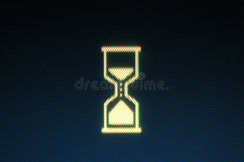 Download Wait stock image. Image of symbol, computer, hourglass - 23795081