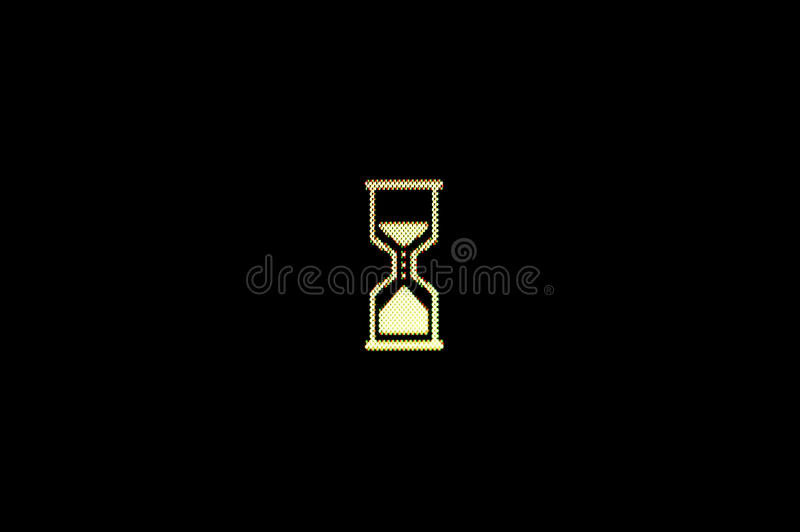 Download Wait stock photo. Image of monitor, hourglass, show, background - 23795192