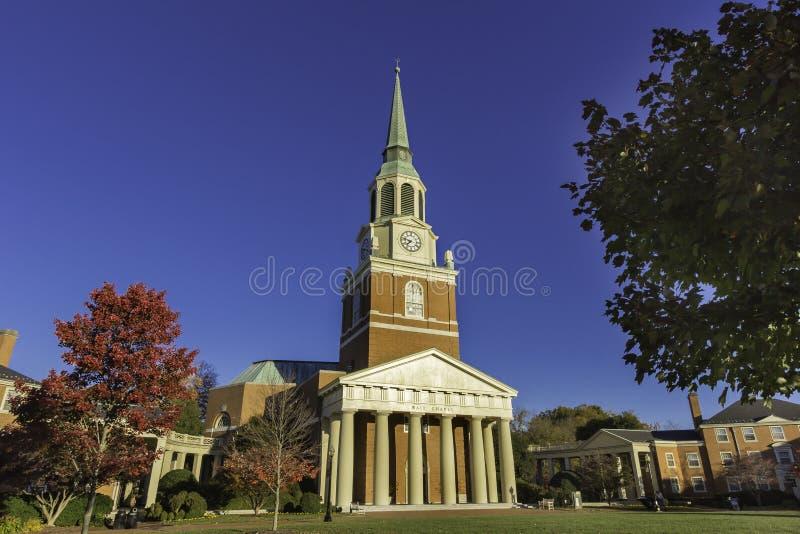Download Wait Chapel stock image. Image of horizontal, autumn - 51895229