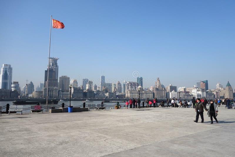 Waitan Shanghai stock fotografie