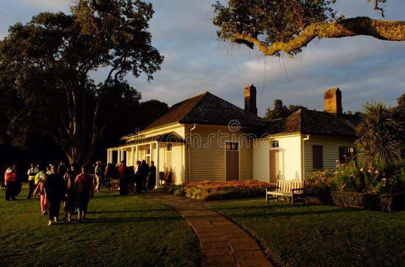Waitangi Dzień, Nowa Zelandia zdjęcie royalty free
