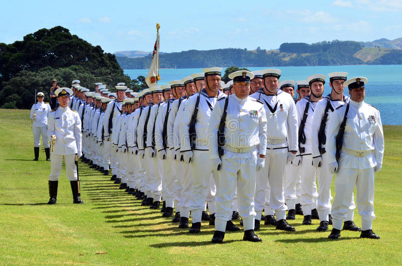Waitangi Tag und Festival - gesetzlicher Feiertag 2013 Neuseelands lizenzfreies stockbild