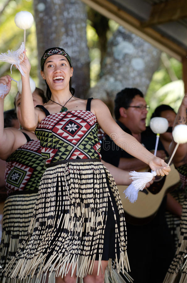 Waitangi Tag und Festival - gesetzlicher Feiertag 2013 Neuseelands stockbild